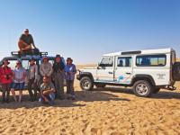 4x4 driving through the Massive rolling dunes in Swakopmund |  <i>Peter Walton</i>