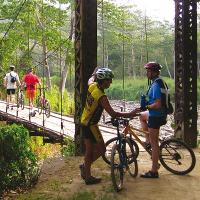 On our Costa Rica Traverse trip we bike, hike and raft our way through this amazing country -  Photo: Coast to Coast Adventures