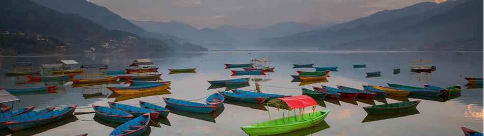 Chilling out on Phewa Lake, Pokhara -  Photo: Timothy Starkey
