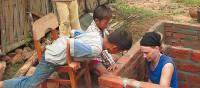 Building the village schoolhouse on a Vietnam community project | Richard Cunningham