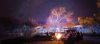 Around the campfire at Charlie's Camp on the Larapinta Trail | Graham Michael Freeman