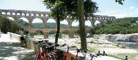 The Roman aqueduct Ponte du Gard, one of the many historical legacies found in the Languedoc-Roussillion region