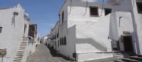 White-washed village in the Alentejo