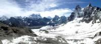 Vibrant panorama while trekking towards Renjo La   Ray Mustey
