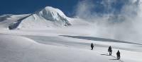 Descending Mera Peak in twilight | Warren Townsden