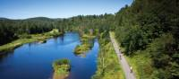 Quebec's Petit Train du Nord rail trail