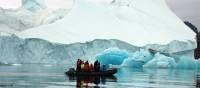 Zodiac cruising in the Arctic   Rachel Imber
