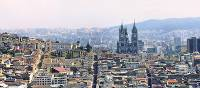 The dramatic city of Quito, nestled in the Andean Foothills
