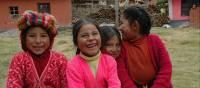 Huilloq village school children | Donna Lawrence